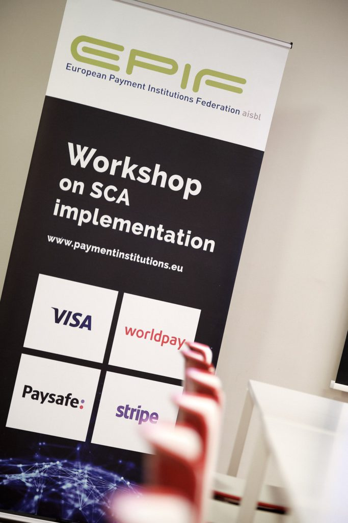 EPIF Workshop on SCA implementation - Payment Institutions